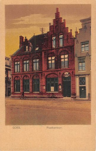 Ansichtkaart Goes Postkantoor HC14106