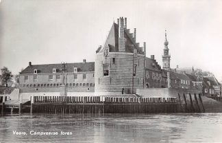 Ansichtkaart Veere Campveerse toren 1959 HC14108