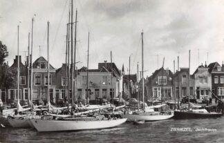 Ansichtkaart Zierikzee Jachthaven 1963 Zeilschepen Scheepvaart HC14119