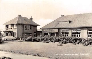 Ansichtkaart Ottoland Chr. Lag. Landbouwschool 1963 Alblasserwaard HC14137