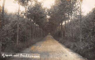 Ansichtkaart Bakkeveen Groeten uit 1925 Fotokaart Opsterland bij Drachten HC14144