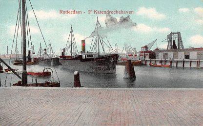 Ansichtkaart Rotterdam 2e Katendrechtse Haven Scheepvaart Schepen HC14171