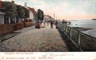Ansichtkaart Rotterdam Kralingsche Veer 1904 HC14206