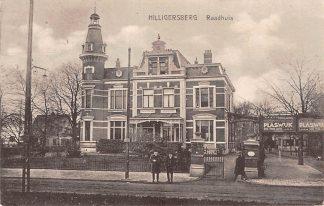 Ansichtkaart Rotterdam Hillegersberg Raadhuis 1933 HC14209