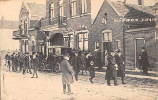 Ansichtkaart Hoek van Holland Schipbreuk Berlin Z.K.H. Prins Hendrik verlaat het Americain Hotel Auto Scheepvaart HC14222