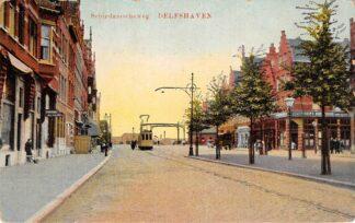 Ansichtkaart Rotterdam Schiedamscheweg Delfshaven Tram HC14378