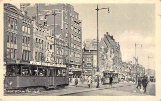 Ansichtkaart Rotterdam Coolsingel 1939 met trams HC14427