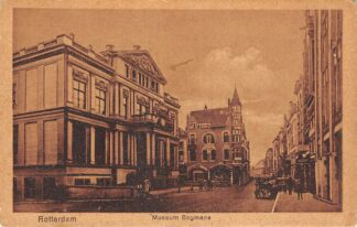 Ansichtkaart Rotterdam Korte Hoogstraat Museum Boymans Schielandshuis HC14430