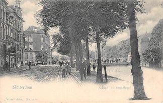 Ansichtkaart Rotterdam Schiedamsche en Coolsingel Vivat No. 2080 HC14444