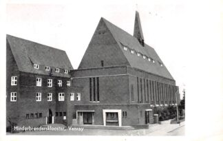 Ansichtkaart Venray Minderbroedersklooster 1961 HC14509