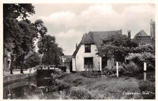 Ansichtkaart Oudewater Sluis 1954 HC14517