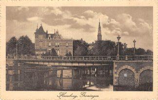 Ansichtkaart Groningen Heerebrug 1914 HC14525