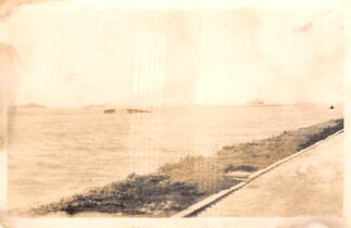 Ansichtkaart Ouderkerk aan den IJssel Fotokaart Watersnood Ondergelopen land na dijkdoorbraak HC14573