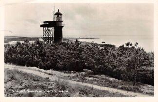 Ansichtkaart Vlieland Vuurtoren met Panorama 1956 HC14578