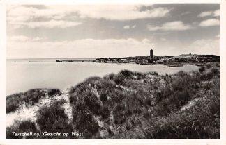 Ansichtkaart Terschelling Gezicht op West Vuurtoren 1956 HC14579