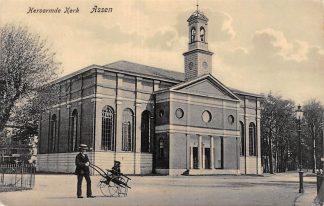 Ansichtkaart Assen Hervormde Kerk 1908 HC14601