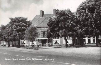 Ansichtkaart Laren (GD) Hotel Cafe Restaurant Witkamp Dorpsstraat 8 1976 HC14604