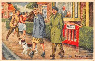 Ansichtkaart Putten Garderen Reclame Vacantie-Centrum Mooie Veluwe 1959 HC14611