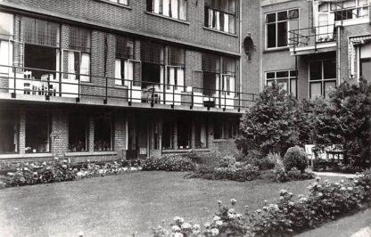 Ansichtkaart Gouda Westhaven Diaconessenhuis De Wijk Tuin Ziekenhuis 1962 HC14657