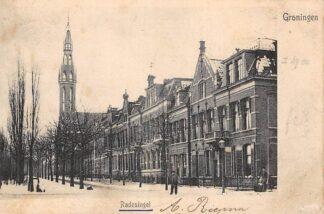Ansichtkaart Groningen Radesingel 1904 Kleinrondstempel 1904 HC14777
