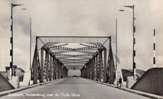 Ansichtkaart Dordrecht Verkeersbrug over de Oude Maas Zwijndrecht 1941 HC14802