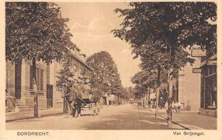 Ansichtkaart Dordrecht Van Strijsingel Paard en wagen Rechts Ford garage HC14908