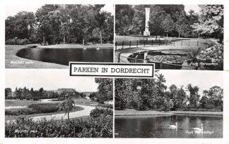 Ansichtkaart Dordrecht Parken Weizicht park en Park Merwesteyn HC14935