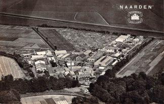 Ansichtkaart Naarden Chemische Fabriek KLM Luchtfoto 1956 HC14946