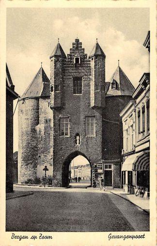 Ansichtkaart Bergen op Zoom Gevangepoort 1940 HC14962