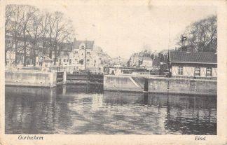 Ansichtkaart Gorinchem Eind met sluis Binnenvaart HC14973