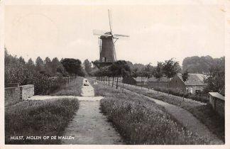 Ansichtkaart Hulst Molen op de Wallen 1939 HC14988