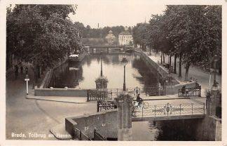 Ansichtkaart Breda Tolbrug en Haven 1942 HC15029