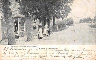 Ansichtkaart Amsterdam Duivendrecht Winkel Groeten uit 1904 HC15034