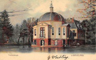 Ansichtkaart 's-Graveland Trompenburgh Kasteel voor 1906 HC15088