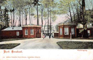 Ansichtkaart Arnhem Park Sonsbeek Hoofdingang HC15093