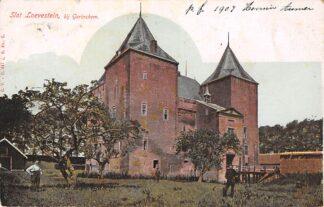 Ansichtkaart Zaltbommel Gorinchem Slot Loevestein rond 1900 Kasteel HC15094