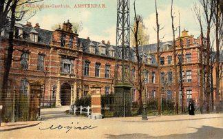 Ansichtkaart Amsterdam Wilhelimina-Gasthuis Ziekenhuis HC15099