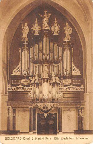 Ansichtkaart Bolsward Orgel St. Martini Kerk HC15119