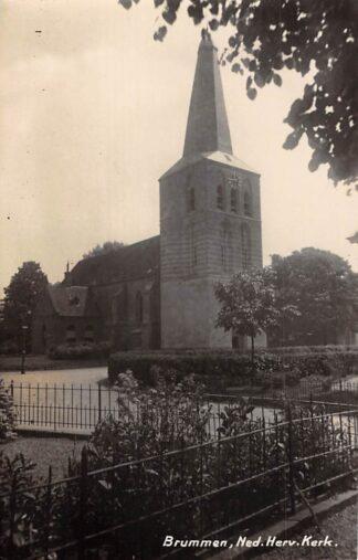 Ansichtkaart Brummen Ned. Hervormde Kerk Fotokaart HC15132
