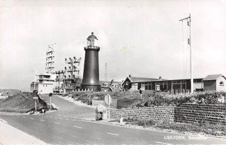 Ansichtkaart IJmuiden Semafoor en Vuurtoren 1969 HC15141