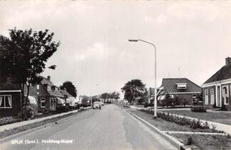Ansichtkaart Spijk (GR) Hoofdweg-Noord 1966 HC15155