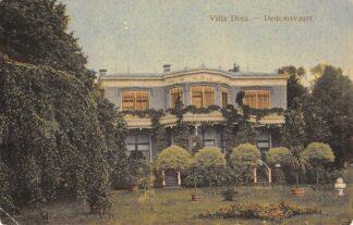 Ansichtkaart Dedemsvaart Villa Dina 1918 HC15159