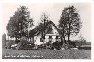 Ansichtkaart Lisse Achterweg Huize Dubbelhoven 1954 HC15173