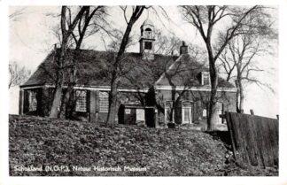 Ansichtkaart Schokland Flevoland Kerk Natuur Historisch Museum 1951 HC15175
