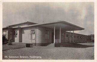 Ansichtkaart Zevenaar Sanatorium Hoofdingang 1943 HC15180