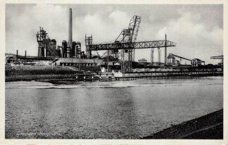Ansichtkaart IJmuiden Hoogovens 1937 HC15183