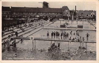 Ansichtkaart Zwolle Gemeente Zwembad Molen HC15191
