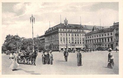 Ansichtkaart Duitsland Berlin Unter den Linden mit Hotel Adlon Deutschland Europa HC15209