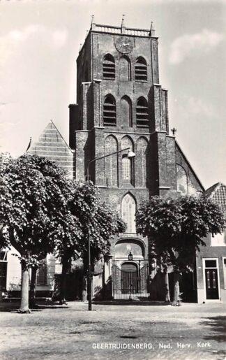 Ansichtkaart Geertruidenberg Ned. Hervormde Kerk 1962 HC15228