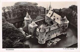 Ansichtkaart Muiden Muiderslot KLM Luchtfoto 3283 1932 Kasteel HC15247